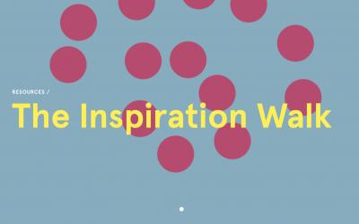 Inspiration beim Gehen: Inspiration Walk der d.school